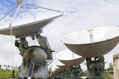 Osservatorio solare in Siberia orientale Fotografia Stock