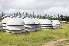 Osservatorio solare in Siberia orientale Immagine Stock Libera da Diritti