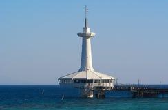 Osservatorio subacqueo di Eilat Fotografia Stock Libera da Diritti