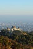 Osservatorio sulla collina Immagini Stock Libere da Diritti
