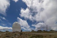 Osservatorio sulla montagna immagine stock