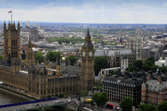 Osservazione Londra Fotografie Stock