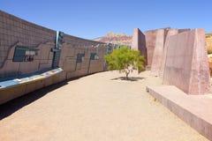 Osservazioni rosse Nevada del centro dell'ospite del canyon della roccia. Immagini Stock