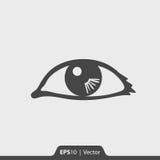 Osservi con l'icona della riflessione per il web ed il cellulare Fotografie Stock