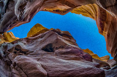 Osservi dal canyon rosso 2 Immagine Stock Libera da Diritti