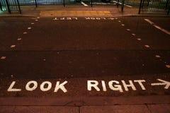 Osservi di destra Fotografia Stock Libera da Diritti