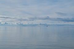 Osservi nel mare di baltis Fotografia Stock Libera da Diritti