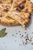 Ossetian baked pie Royalty Free Stock Photography