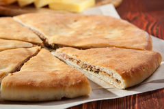 Ossetian Pie Royalty Free Stock Photography