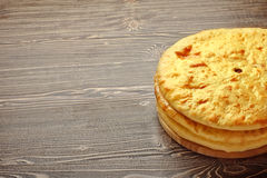 Ossetian pies Stock Photo