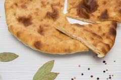 Ossetische gebackene Torte Stockbilder
