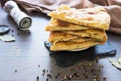 Ossetische gebackene Torte Stockfoto