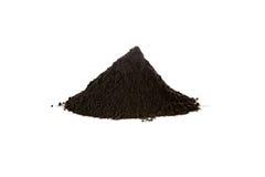 Ossido di ferro nero, magnetite Fotografia Stock Libera da Diritti