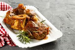 Free Osso Bucco Beef Stock Images - 99954704