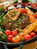 Osso buco Royalty Free Stock Images