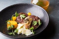 Osso buco italian meat dish Stock Photos
