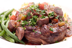 Osso buco veal shank Royalty Free Stock Image