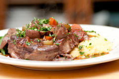 Osso buco veal shank Royalty Free Stock Images