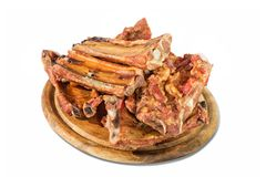 Osso fumado da carne de porco Imagem de Stock Royalty Free