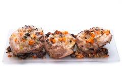 Ossobuco, alimentos do camponês Fotografia de Stock Royalty Free