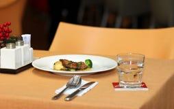 Ossobuco alla milanese, italian cuisine Stock Photography