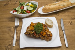 Ossobuco alla milanese Royalty Free Stock Photography