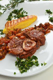 Ossobuco Milanese Stock Photo