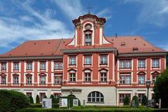Ossolineum i Wroclaw - Polen Royaltyfri Bild