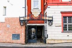 Ossolineum-Nationalbibliothek, Breslau, Polen Lizenzfreie Stockfotos