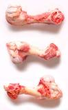 Ossos da carne de porco Fotos de Stock Royalty Free