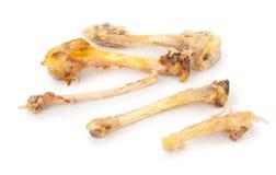 Ossos da galinha Fotos de Stock Royalty Free