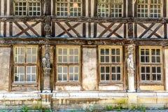 Ossuaire de saint-Maclou, Rouen, France Image libre de droits