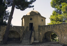 Ossuary, Arkadi Monastery, Creta Foto de Stock