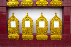 Ossuary Buddhist of thailand Royalty Free Stock Images