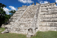 The Ossuary Chichen Itza Royalty Free Stock Images