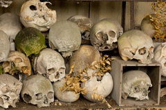 Ossuary of Marville in France Stock Photography