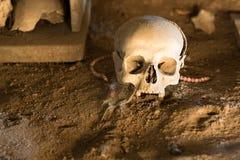 Ossuary in Naples Royalty Free Stock Photos