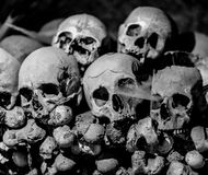Ossuary in Naples Royalty Free Stock Photography