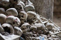 Ossuary in Naples Stock Photography