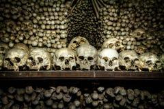 Ossuary near Kutna Hora Stock Photos