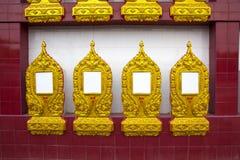 Ossuarybuddist av Thailand Royaltyfria Bilder