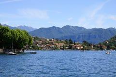 Ossuccio - lago Como Immagine Stock Libera da Diritti