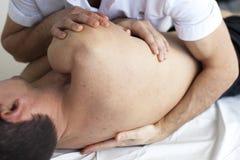 Ostéopathie photos stock
