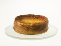 Ost bakade kakan med aprikosdriftstopp och russin Fotografering för Bildbyråer
