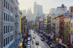 Ost-Broadway HDR Stockfotografie