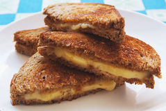ost grillad plattarostat bröd Arkivfoto