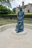 OST- GRINSTEAD, WEST-SUSSEX/UK - 13. JUNI: McIndoe-Denkmal in E Stockbild