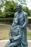 OST- GRINSTEAD, WEST-SUSSEX/UK - 13. JUNI: McIndoe-Denkmal in E Stockbilder