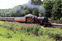 Ost-Lancashire-Dampf-Eisenbahn Stockbild