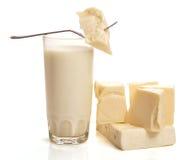 ost mjölkar arkivbild
